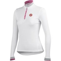 Castelli Perla Winter Cycling Jersey - Zip Neck, Long Sleeve (For Women)