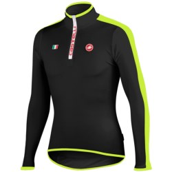 Castelli Sprinta Cycling Jersey - Zip Neck, Long Sleeve (For Men)