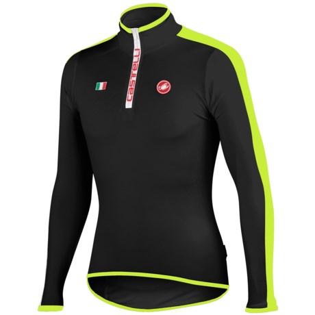 Castelli Sprinta Cycling Jersey - Zip Neck, Long Sleeve (For Men)