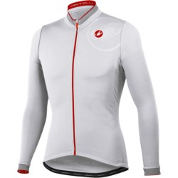 Castelli GPM Cycling Jersey - Full Zip, Long Sleeve (For Men)