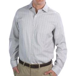 Fairway & Greene Multi-Check Twill Sport Shirt - Long Sleeve (For Men)