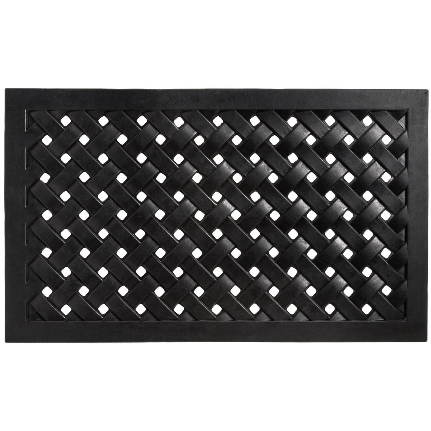 entryways recycled rubber door mat click to expand - Rubber Door Mat