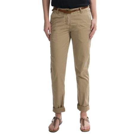 Maison Scotch Belted Chino Pants - Cotton (For Women)