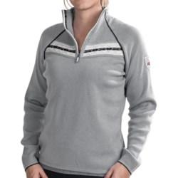 Dale of Norway Viking Sweater - Merino Wool, Zip Neck (For Women)