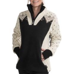 Dale of Norway Arktis Sweater - Merino Wool, Zip Neck (For Women)