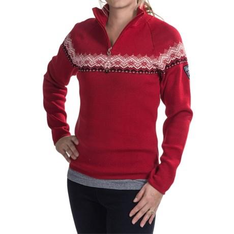 Dale of Norway Calgary Sweater - Merino Wool, Zip Neck (For Women)