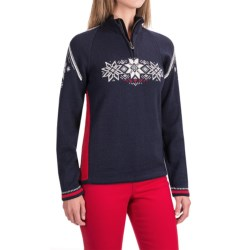Dale of Norway Holmenkollen Sweater - Merino Wool, Zip Neck (For Women)