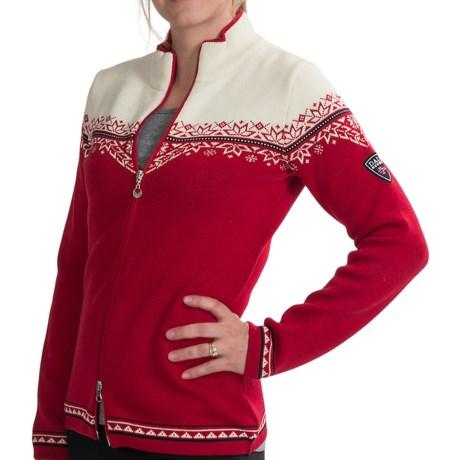 Dale of Norway Nordlys Cardigan Jacket - Merino Wool (For Women)