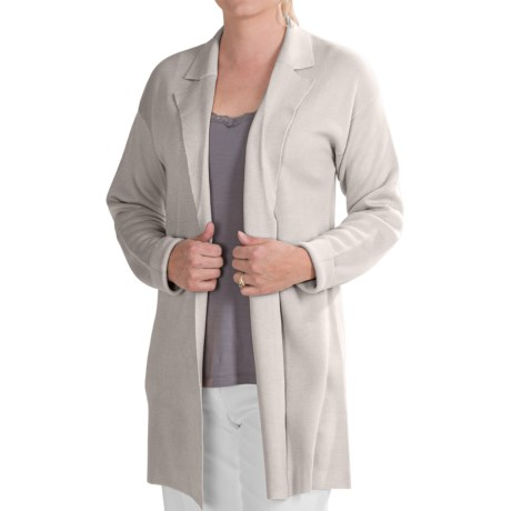 Select Belford Silk Cardigan Sweater (For Women)