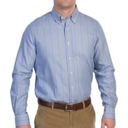 Fairway & Greene Button Down Striped Sport Shirt - Long Sleeve (For Men)