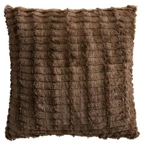 "Commonwealth Home Fashions Cut Faux-Fur Decor Pillow - 18x18"""