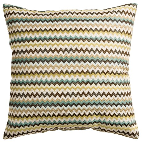 Commonwealth Home Fashions Hiro Ric Rac Decor Pillow - 18x18""