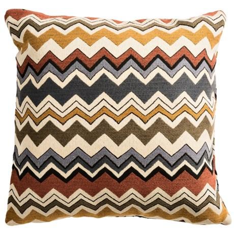 "Commonwealth Home Fashions Bolt Chevron Decor Pillow - 18x18"""