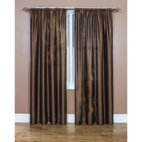 "Habitat Flip Swirl Curtains - 104x84"", Pocket Top"