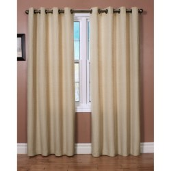 "Habitat Cite Curtains - 100x84"", Grommet Top"