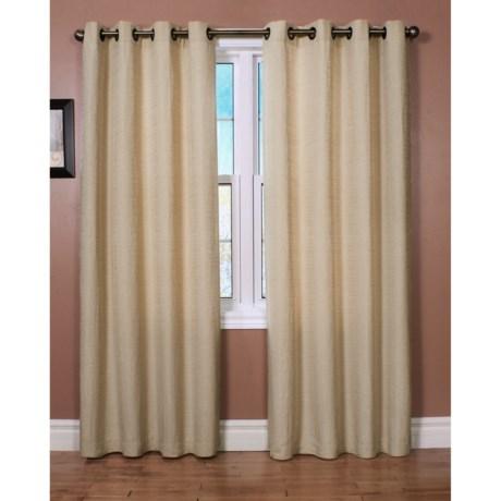 "Habitat Cite Curtains - 100x84"", Grommet Top"
