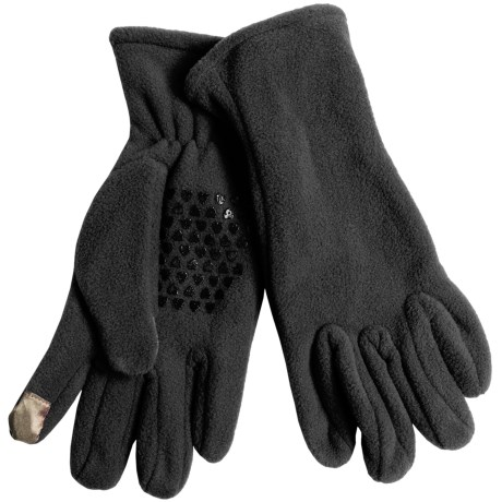 Grand Sierra Fleece Gloves - Touchscreen Compatible (For Women)