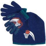 Grand Sierra Sport Beanie and Gloves Set (For Little and Big Boys)