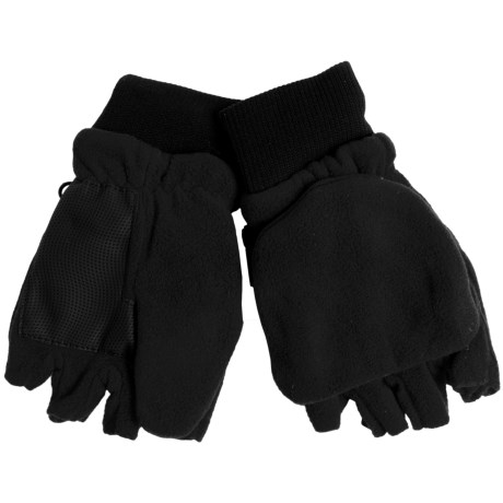 Grand Sierra Pop-Top Mitten Gloves (For Big Boys)