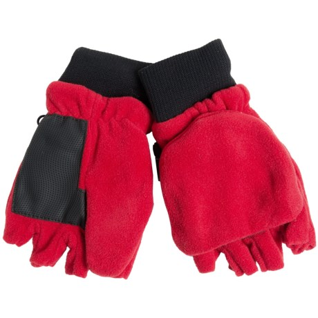 Grand Sierra Pop-Top Mitten Gloves (For Big Boys)