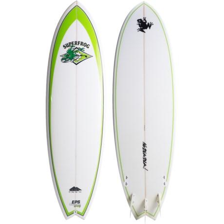 BIC Sport Hydro Fish Superfrog Surfboard - 6'