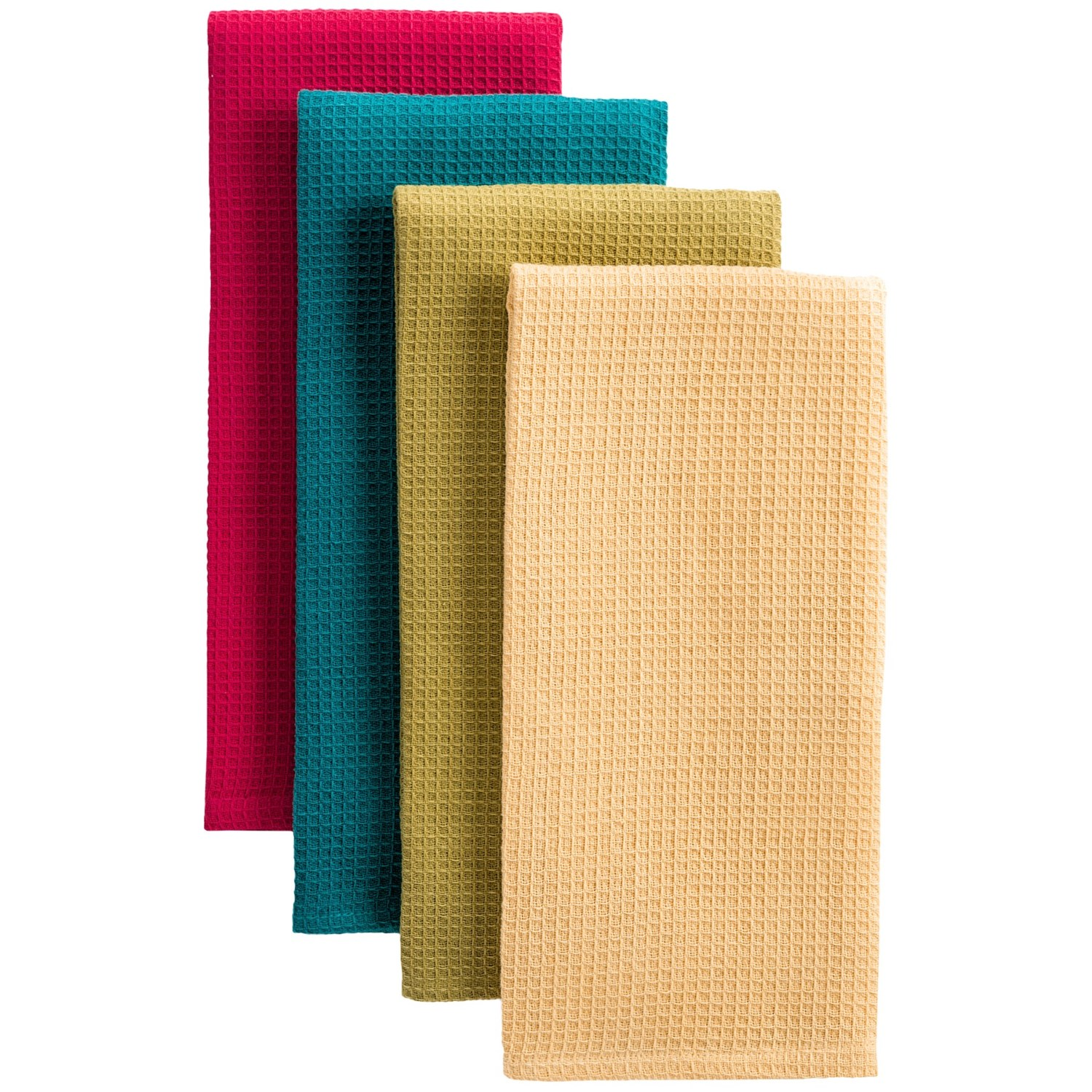 Now Designs Kitchen Towels Now Designs Waffle Weave Dish Towels Set Of 4 7158w