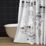 "Danica Studio Cotton Shower Curtain - 72x72"""