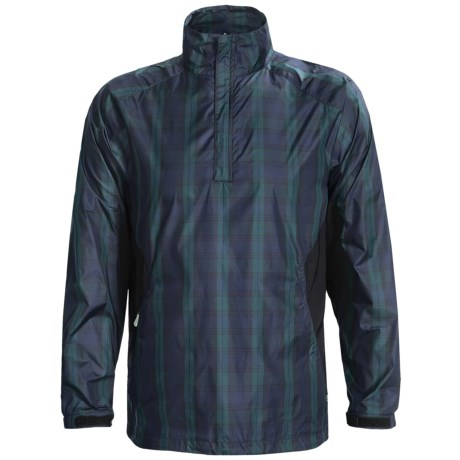Zero Restriction Blackwatch Windshirt - Zip Neck (For Men)