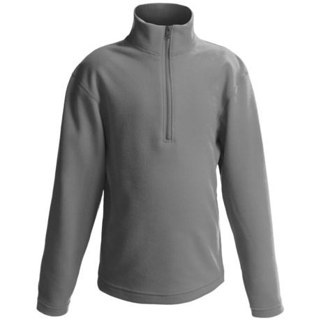 Obermeyer UG 100 Microfleece Pullover - Zip Neck, Long Sleeve (For Boys)