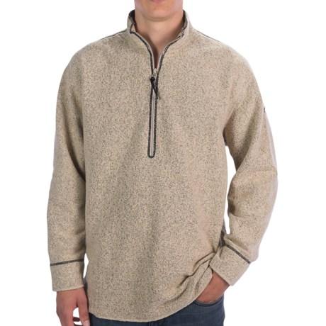 Hot Chillys Barrio Fleece Pullover Jacket - Zip Neck, Long Sleeve (For Men)