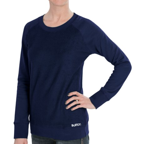 Burton Mid Eiffel Sweater - Cotton (For Women)