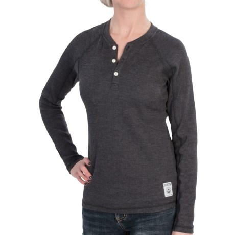 Burton Winhall Henley Shirt - Long Sleeve (For Women)