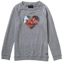 Burton Mid Mystic Sweatshirt - Long Sleeve (For Girls)