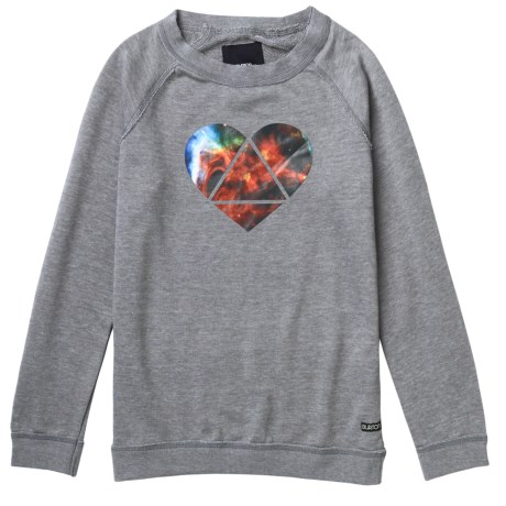 Burton Mid Mystic Sweatshirt - Long Sleeve (For Girls)