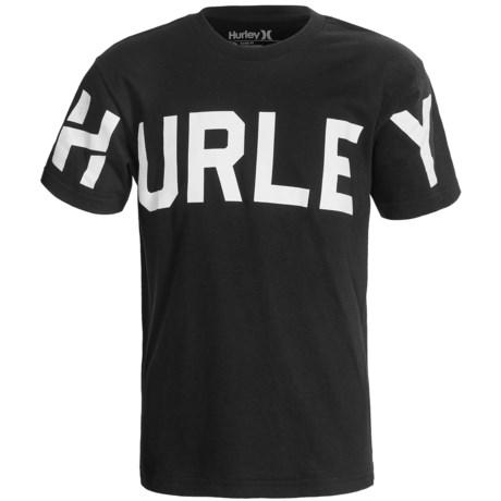 Hurley Stadium Classic T-Shirt - Cotton, Short Sleeve (For Boys)