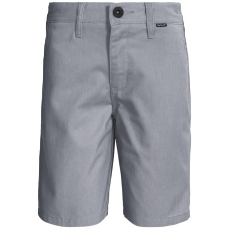Hurley One and Only Chino Shorts (For Boys)