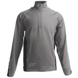 Obermeyer Baker Pullover - Zip Neck, Long Sleeve (For Boys)