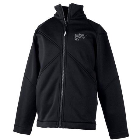 Obermeyer Fleece Jacket - Full Zip (For Boys)