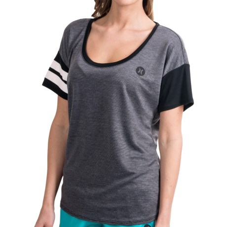 Hurley Dri-Fit T-Shirt - Scoop Neck, Short Sleeve (For Women)