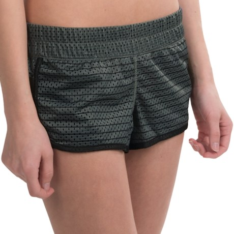 Hurley Dri-Fit Mesh Shorts (For Women)