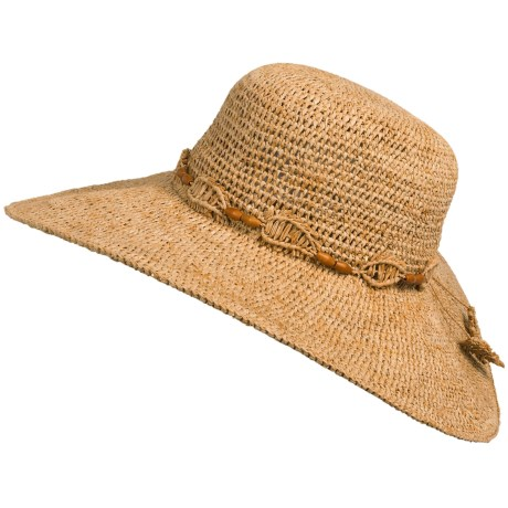 Tommy Bahama Big Brim Hat - Crochet Raffia (For Women)