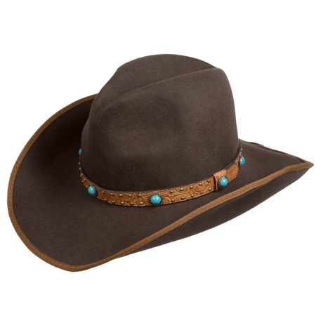 Scala Outback Hat - Wool Felt (For Men and Women)