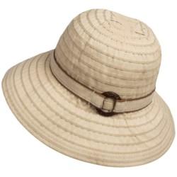Scala Ribbon Bucket Hat - UPF 50+ (For Women)