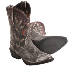 Dan Post Star and Moon Cowboy Boots (For Kid and Youth Girls)