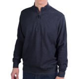 Fairway & Greene Herringbone Sweater - Zip Neck (For Men)