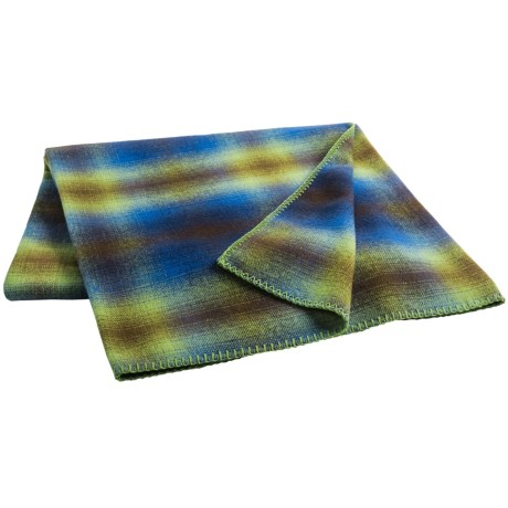 "Woolrich Fawn Grove Throw Blanket - Wool, 54x70"""