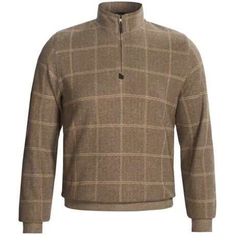 Fairway & Greene Plaid-Herringbone Pullover - Long Sleeve (For Men)