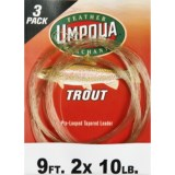 Umpqua Feather Merchants Trout Leader - Tapered, 9', 3-Pack