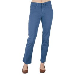 Ethyl Colored Jeans - Straight Leg (For Women)