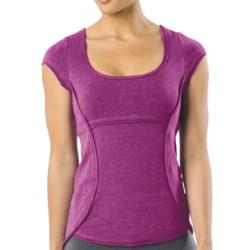 prAna Katarina Yoga Top - Short Sleeve (For Women)